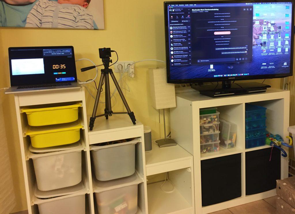 Onlinetrainingssetup mit Skype
